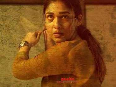 Watch the intense title track song from Nayanthara's Netrikann here! Don't miss!