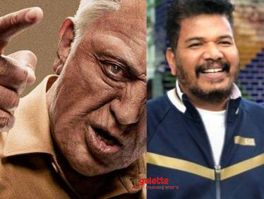 EXCLUSIVE: Important details on shooting update of Shankar's Indian 2 | Kamal Haasan