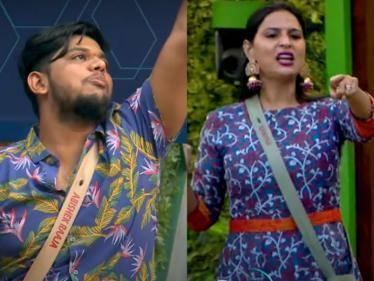 abhishek raaja asks kurum padam bigg boss tamil season 5 promo