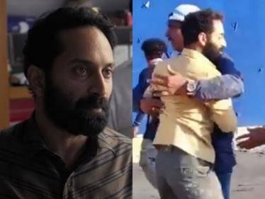 actor fahadh faasil malik movie stunning making video here