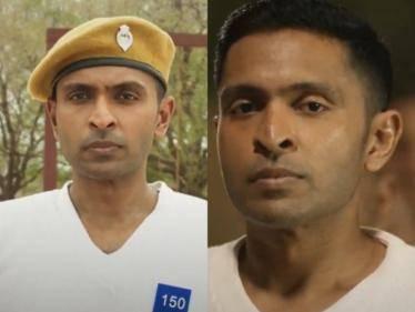 actor vikram prabhu next taanakkaran movie teaser out now