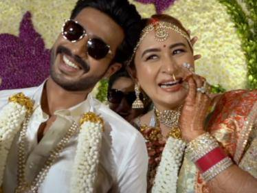 actor vishnu vishal badminton player jwala gutta wedding video goes viral
