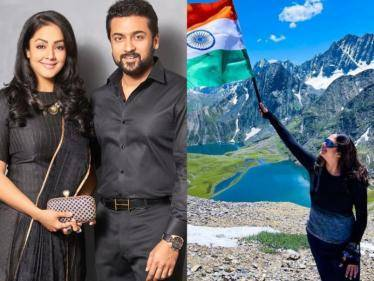 actress jyothika makes her entry in instagram sweet reply from suriya