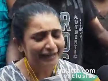 அவளை நான் சிரிச்சு மட்டும்தான் பார்த்துருக்கேன் - மனமுடைந்த சுஜிதா !