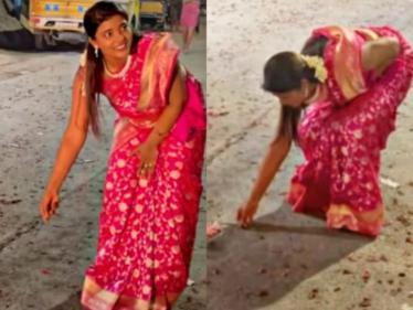 இணையத்தை அசத்தும் ஐஸ்வர்யா ராஜேஷின் தீபாவளி கொண்டாட்டம் !