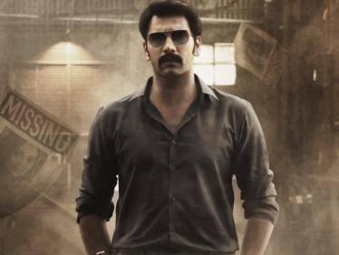 arulnithi dejavu movie second look poster released smruti venkat arvindh srinivasan