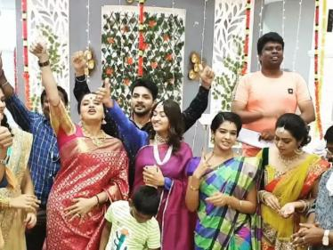 புதிய தொடரில் ரீ-என்ட்ரி கொடுக்கும் அரண்மனை கிளி பிரபலம் !