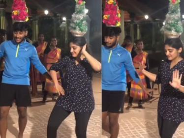 வைரலாகும் நிவேதா தோமஸின் நடன வீடியோ !