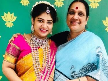 விஜய் டிவி நடிகைக்கு வளைகாப்பு ! விவரம் இதோ