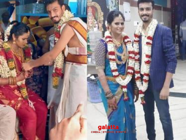 Super Singer runner up gets married to his loved one! Wedding Photos here!