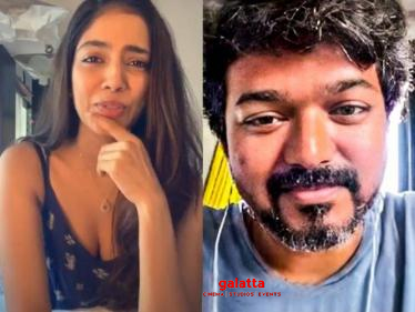 Thalapathy Vijay wishes Malavika Mohanan for her birthday!