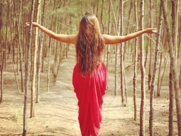 bharathi kannamma farina azad announces pregnancy photo goes viral