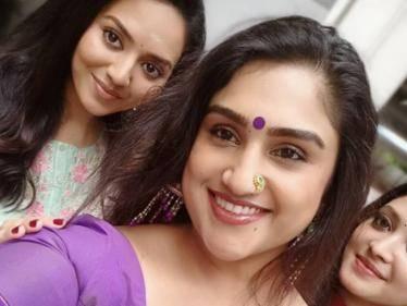 bigg boss fame vanitha vijaykumar new movie starts with pooja