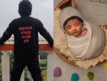 bigg boss sandy master named his son and posted photo in instagram