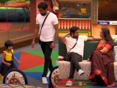 Aari wife's strong words of support, daughter's cute moments | New Bigg Boss 4 promo - Tamil Cinema News