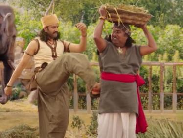 சந்தானம் நடித்த பிஸ்கோத் படத்தின் ஸ்னீக் பீக் காட்சி !