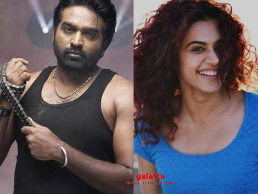 Taapsee officially confirms her next Tamil film with Vijay Sethupathi - important details here!
