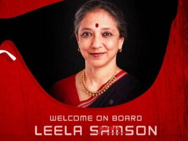 Leela Samson onboard for this star actor's comeback film - big announcement!