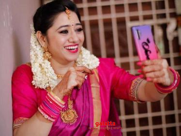 WOW: This popular Tamil serial actress gets engaged through a virtual engagement event!