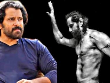 இணையத்தை அசத்தும் சியான் விக்ரமின் போட்டோஷூட் புகைப்படம் !