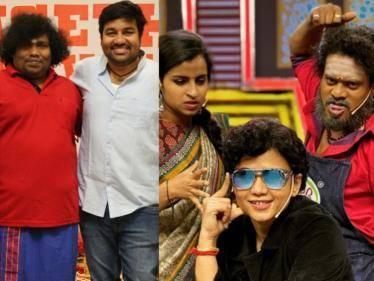 cooku withu comali pugazh joins in sets of kasethan kadavulada remake