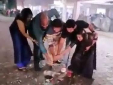 கணவருடன் தீபாவளியை கொண்டாடும் ஆல்யா மானசா ! வைரல் வீடியோ