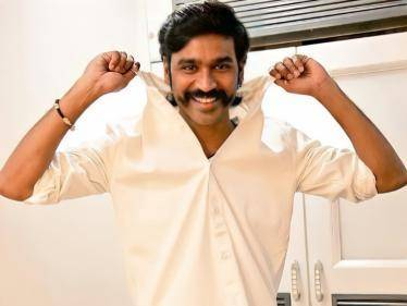 dhanush become first kollywood actor reach 10 million followers in twitter