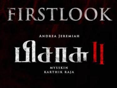 director mysskin andrea jeremiah pisasu 2 first look release date announcement
