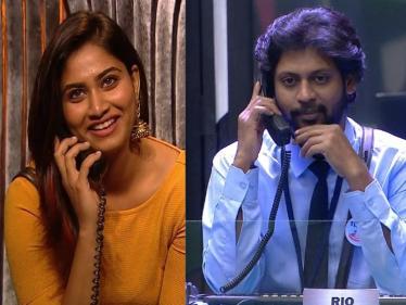 பிக்பாஸ் ஷிவானி மற்றும் ரியோவின் வைரல் வீடியோ !