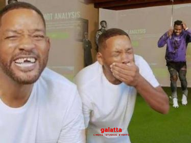Watch Video: Popular singer knocks out Will Smith's teeth
