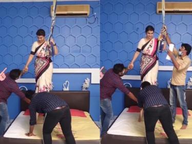 பிரபல சீரியல் நடிகைக்கு தூக்குமாட்ட ஹெல்ப் செய்த கணவர் !