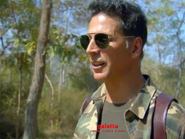 Akshay Kumar's in Into The Wild with Bear Grylls | Viral trending promo - Tamil Cinema News