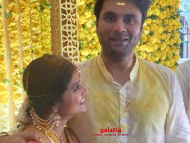 Popular Tamil film director enters wedlock with this actress! Wishes Pour In!