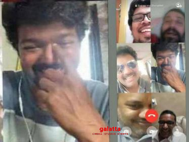 Thalapathy Vijay's recent video call footage goes viral-
