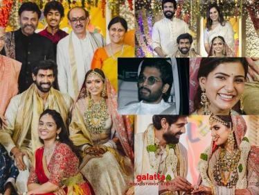 Rana Daggubati marriage video | Allu Arjun | Samantha