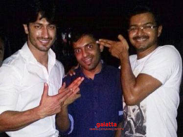 Vidyut Jammwal reveals what Vijay did at Thuppakki Success Party - don't miss!-