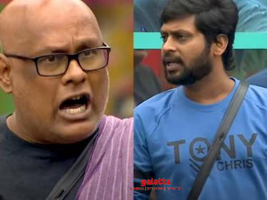 Bigg Boss 4 Tamil latest promo - Rio and others fight with Suresh Chakravarthy!