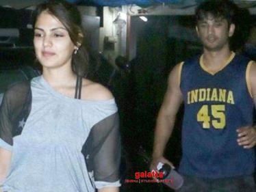 Twist is Sushant's case - ''Rhea Chakraborty was a mother figure to Sushant''-