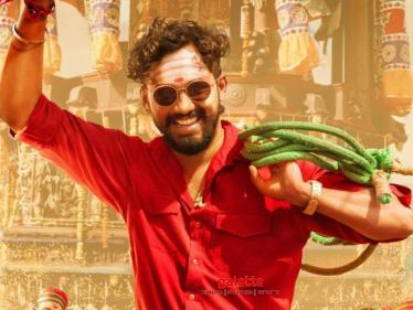 Hiphop Tamizha's next film - super colourful first look poster released | Check Out - Tamil Cinema News
