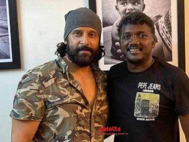 Chiyaan Vikram's surprise meeting with Karnan director Mari Selvaraj - what is the reason? - Tamil Cinema News