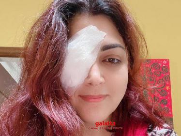 Khushbu Sundar undergoes eye surgery - fans pray for her fast recovery!