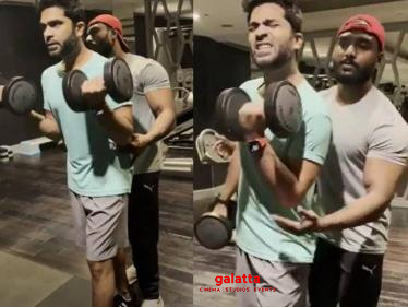 Silambarasan TR's latest trending Gym workout video - Watch it here!