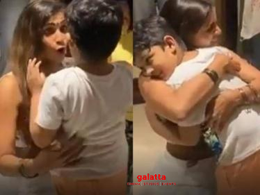 Samyuktha reunites with her son after 2 months - Emotional Video | Bigg Boss 4 Tamil