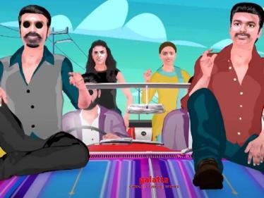 Vijay Music channel announcement video - Vijay, Ajith and Suriya in single frame!