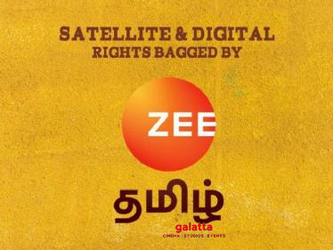 Zee Tamil's next Tamil film officially announced - this recently released movie!