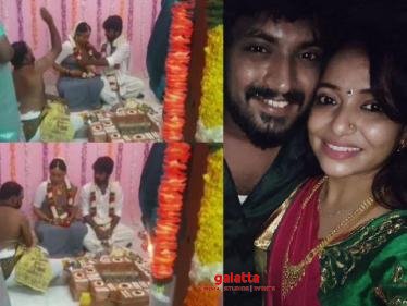 Actress Minnal Deepa shares her wedding video - check out!