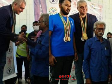 Thala Ajith becomes a Champion - wins Gold Medal   Watch VIDEO here!