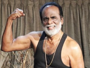 விஷாலுக்கு டஃப் தரும் அவரது தந்தை ஜிகே ரெட்டி ! ஓர்க்கவுட் புகைப்படம் இதோ