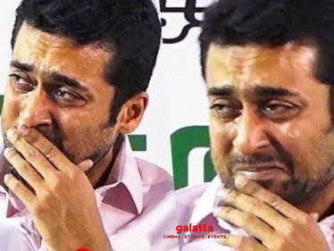 Suriya's breaking statement on this latest incident! Check Out