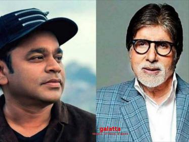 AR Rahman Teams Up With Amitabh Bachchan For His Film!